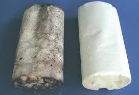 contaminated wipes